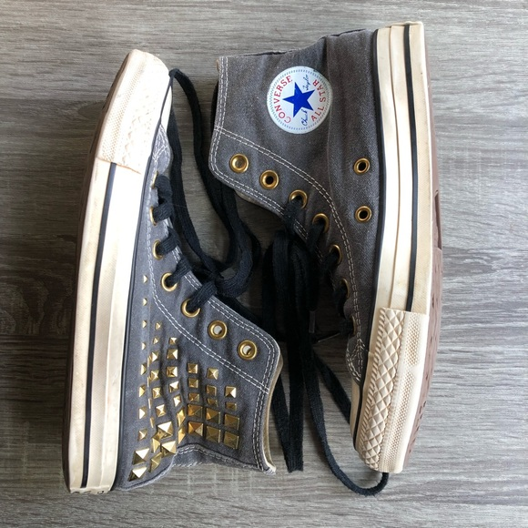 Converse Chuck Taylor All Star Studded High Tops 6